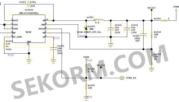 图5 换二极管后的5vsw模块电路图