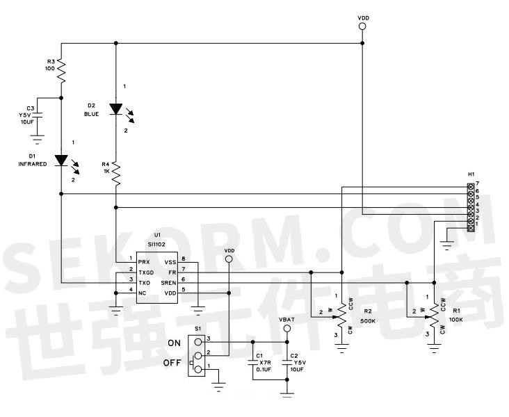 si1102电路板电路图