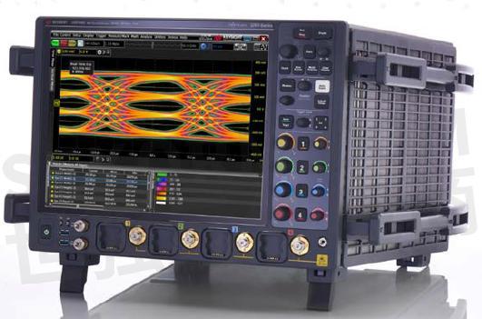 信号功率测量和分析   ·  信号完整性分析 uxr0134a示波器的外观形状