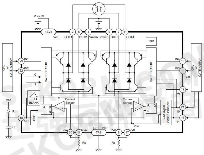 2a,输出电压35v ●恒流控制(固定频率pwm控制) ●2位数字电流选择