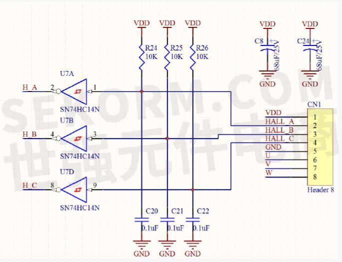 sn74123n应用电路图