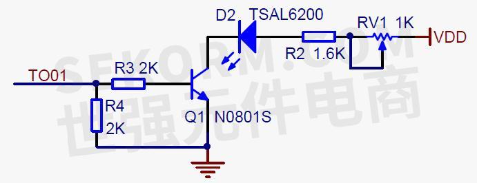 5v的交流电源变压器与全桥整流电路设计,全桥整流后通过7805串联稳压