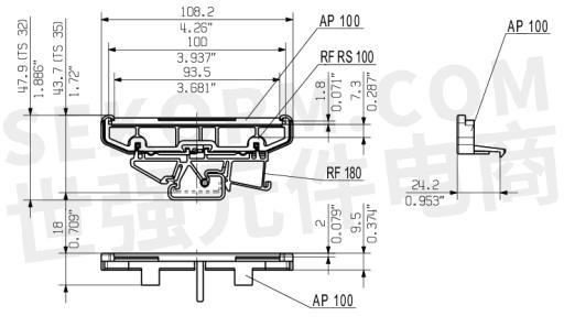 【产品】漏电起痕指数超过600的线路板卡槽,可实现高组件密度,适用于1